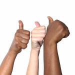 Hands Three Thumbs Up
