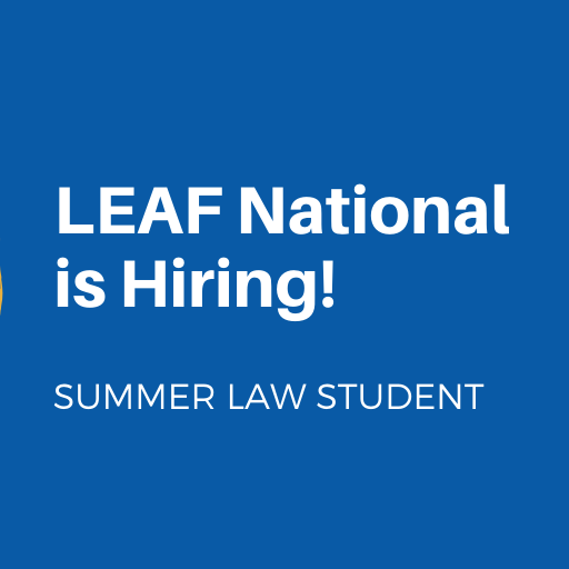 LEAF National is Hiring! Summer Law Student