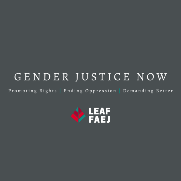 poster for Gender Justice Now